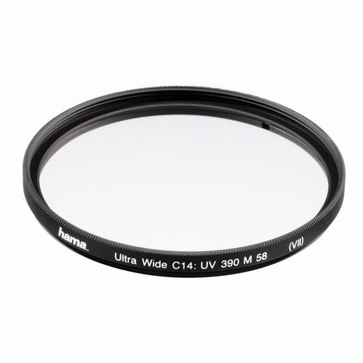 UV Filter 390, C14 multi-coated, Wide 55,0 mm