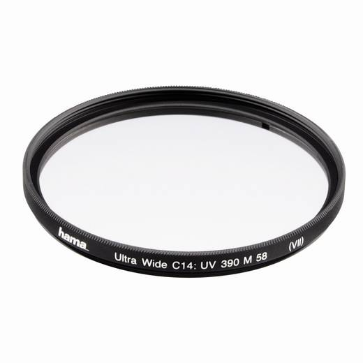 UV-filter 390 (O-Haze) Wide 3 mm, 72,0 mm, C14 multi-coating