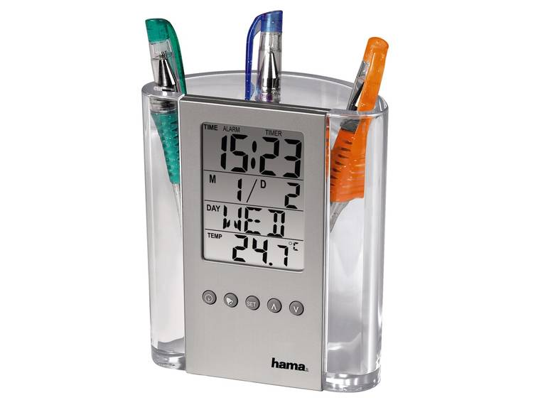 Hama 75299 LCD Thermometer- Penhouder