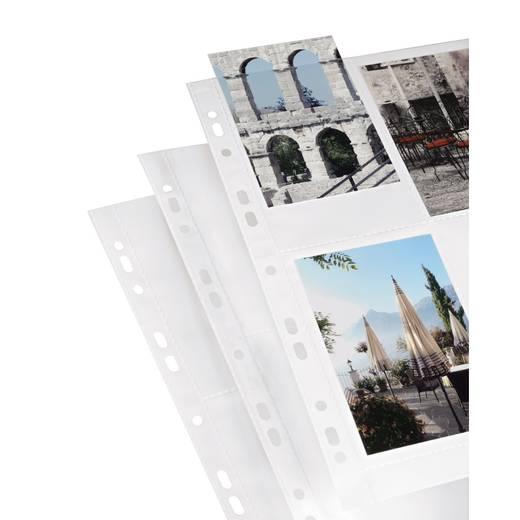 Fotohoezen A4, wit, 9 x 13 cm
