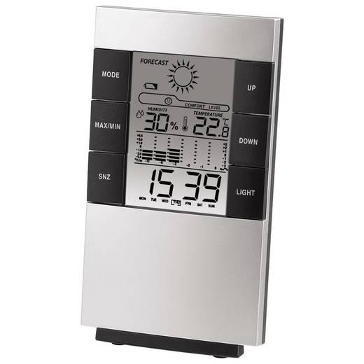 Hama TH-200 Thermo- en hygrometer Zwart, Zilver