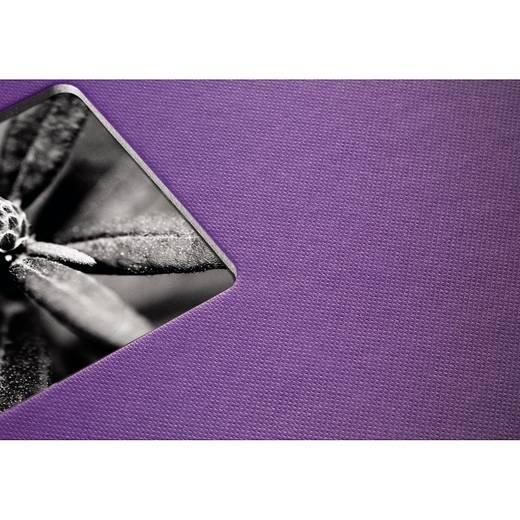 Fotoalbum met ringband Fine Art, paars, 24x17/50