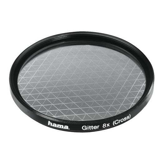 Effect filters, roosters, 8x, 58,0 mm