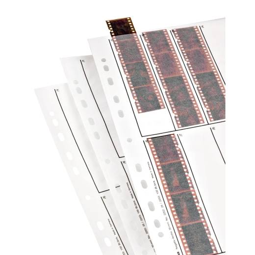 Negatiefbladen, 24 x 36 mm, pergamine mat
