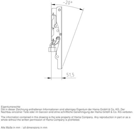 "Hama TV-wandhouder MOTION 25,4 - 94 cm (10"" - 37"") zwart"