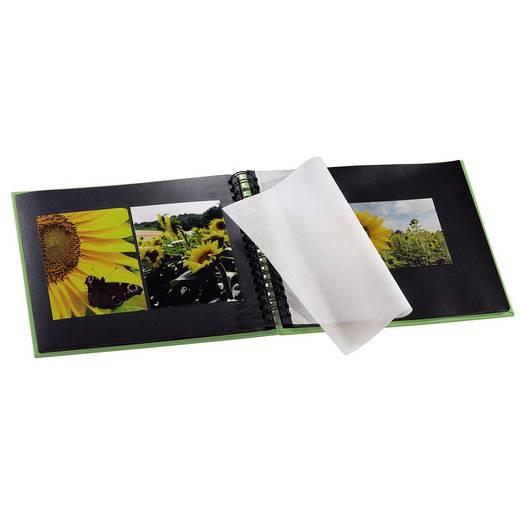 Fotoalbum met ringband Fine Art, appelgroen, 28x24/50