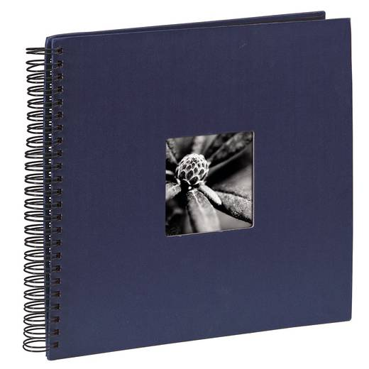 "Spiraal Album ""Fine Art"", blauw, 36x32 / 50"