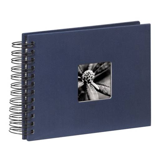 "Spiraal Album ""Fine Art"", blauw, 24x17 / 50"