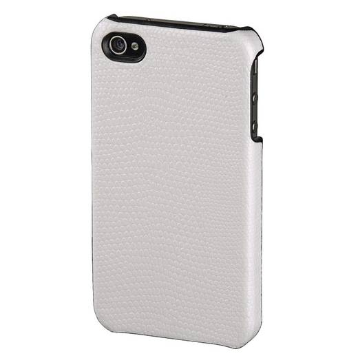 Hama Hoes Snake iPhone Backcover Geschikt voor model (GSM's): Apple iPhone 4, Apple iPhone 4S Wit