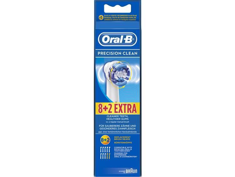 Oral-B Precision Clean opzetborstel 8+2 voordeelverpakking