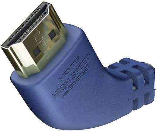 Inakustik HDMI Aansluitkabel [1x HDMI-stekker - 1x HDMI-stekker] 3 m Zilver-blauw