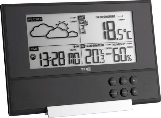 Digitaal draadloos weerstation TFA Pure Voorspelling voor 12 tot 24 uur