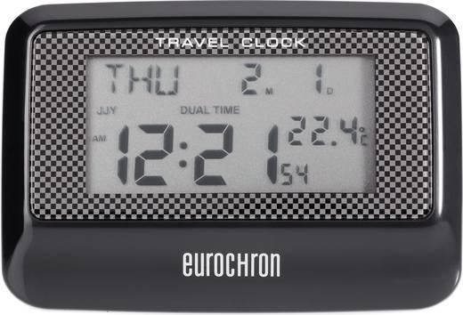 Wekker Zendergestuurd Zwart Eurochron C8263A