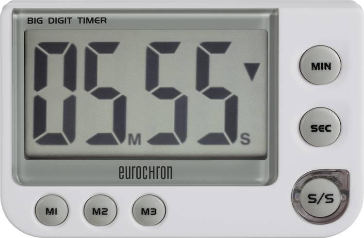 Timer Eurochron EDT 4000 Wit Digitaal