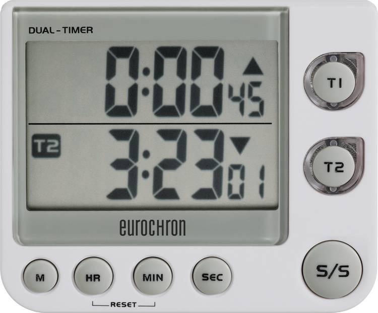 Timer Eurochron EDT 4002 Wit Digitaal