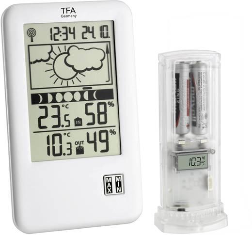 Digitaal draadloos weerstation TFA Zendergestuurd weerstation Neo Plus Voorspelling voor 12 tot 24 uur