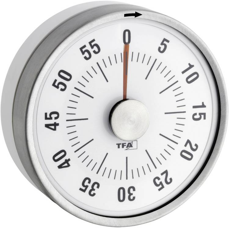 Image of Timer TFA Puck Wit Analoog