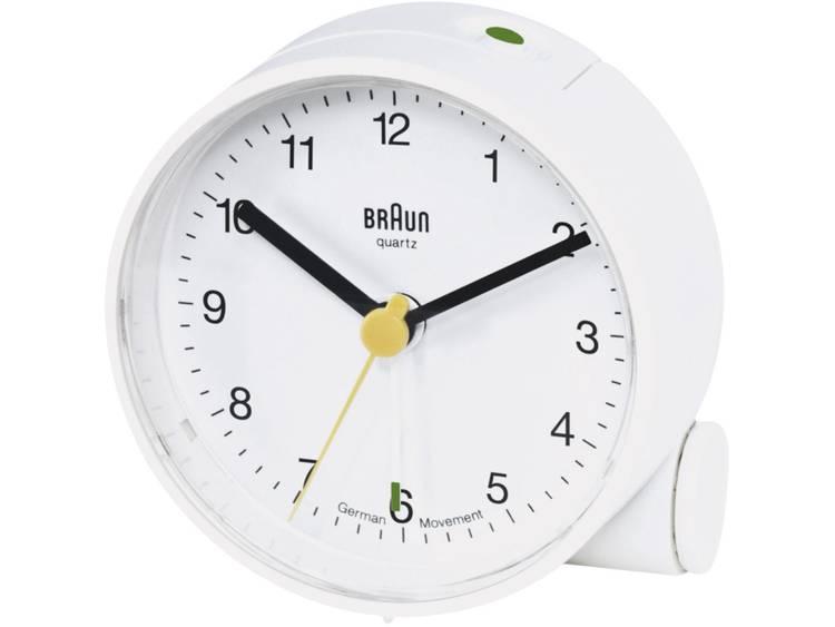 Braun 66004 Wekker Quartz Wit Alarmtijden 1