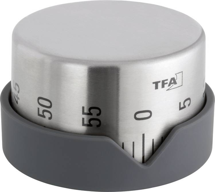 Image of Timer TFA Dot RVS Mechanisch