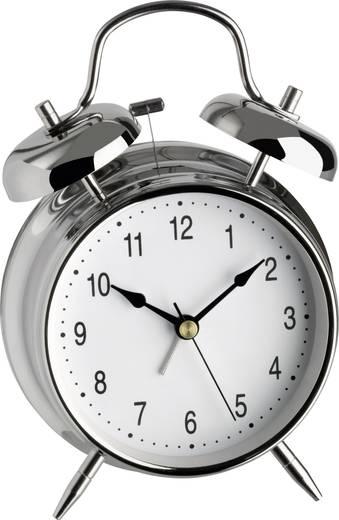 Wekker Quarz Zilver Alarmtijden: 1 TFA 98.1043