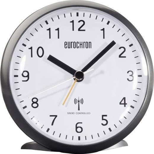 Wekker Zendergestuurd Zwart Alarmtijden: 1 Eurochron HD-TRC202