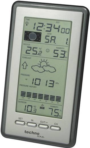 Digitaal draadloos weerstation Techno Line Radioweerstation WS 9040 IT