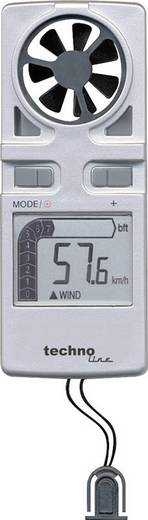 Techno Line EA 3010 Windmeter Zilver Meetbereik windsnelheid: 0.2 tot 30 m/s
