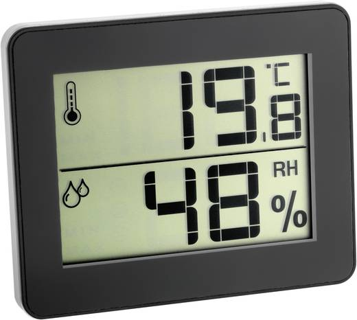 Thermo- en hygrometer TFA 30.5027.01 Digitale thermo-/hygro