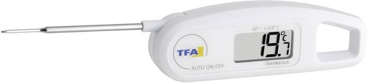 TFA 30.1047 Keukenthermometer automatische uitschakeling conform HACCP en EN 13485. straalwaterdicht IP65 sauzen. pasteuze stoffen. halfvaste stoffen. vloeistof