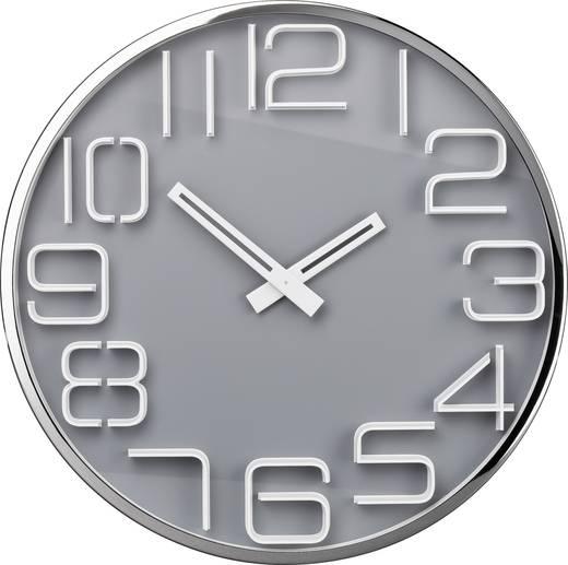 TFA 60.3016.10 Quarz Wandklok 30 cm x 4 cm Metaal