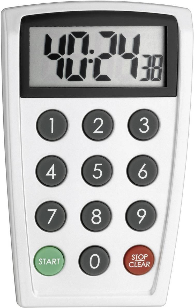 Timer TFA 38.2026 Zilver Digitaal