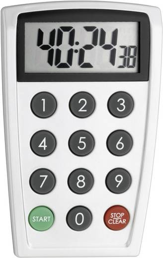 TFA Elektronische timer Timer Zilver