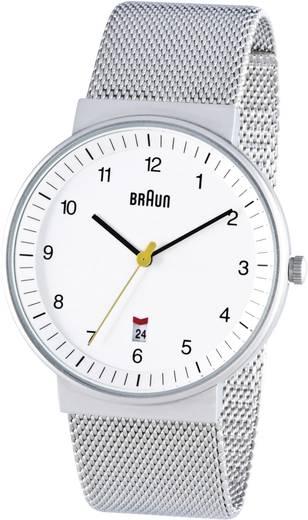 Braun BN0032 Analoog Horloge RVS RVS