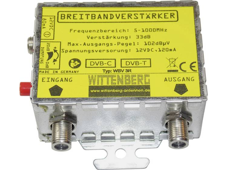 Wittenberg Antennen WBV-3R DVB-T versterker