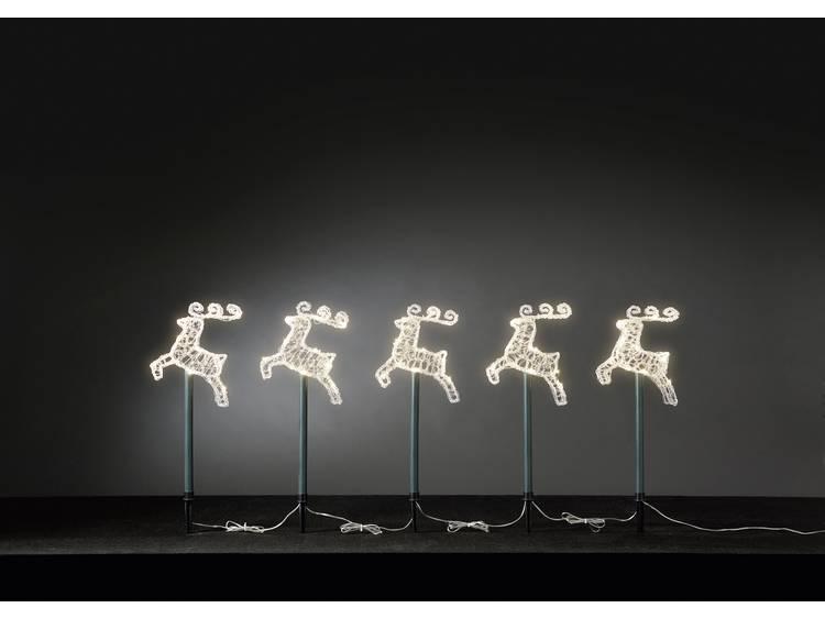 KONSTSMIDE LED-lichtstavenset met rendieren