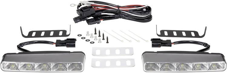 Dagrijlicht LED (b x h x d) 160 x 25 x 55 mm Renkforce TTX-8009 TTX-8009