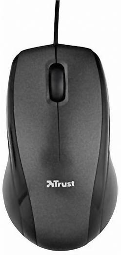 Trust Carve USB muis Optisch Zwart
