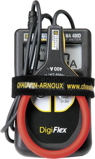 Chauvin Arnoux Digiflex MA400D-250 Stroomtang, Multimeter Digitaal Kalibratie: Zonder certificaat CAT IV 600 V Weergave