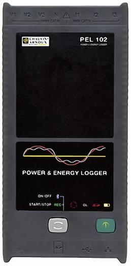 Chauvin Arnoux PEL 102 Vermogens- en energierecorder met stroomtransformatoren, netan