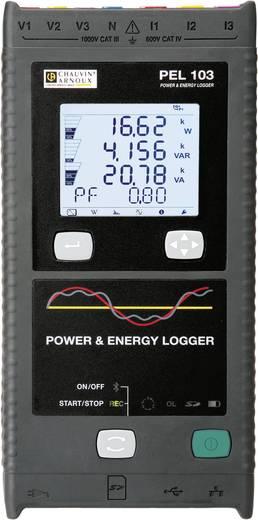 Chauvin Arnoux PEL 103 Vermogens- en energierecorder, netanalyseapparaat, netanalysator, P01157151