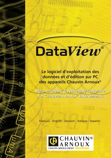 Chauvin Arnoux Software DataView, Geschikt voor PEL 102, PEL 103P01102095