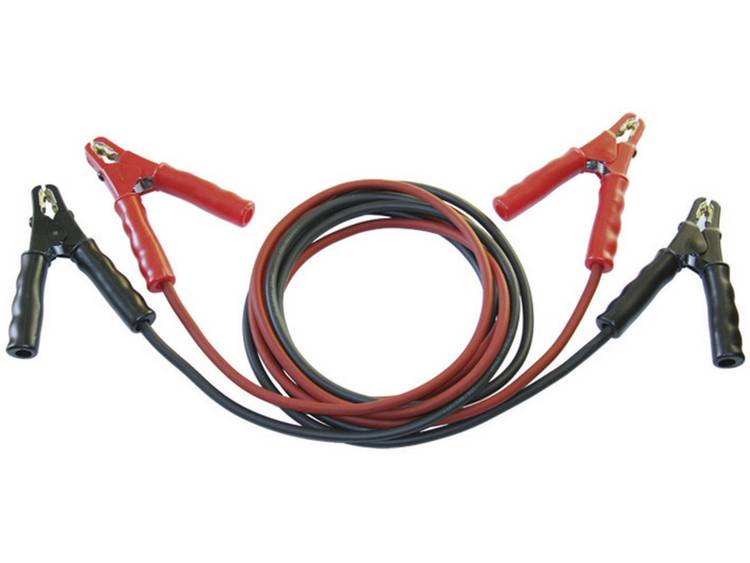 SET® Startkabel 25 mm² 3.5 m met plaatstaal-tangen, zonder beveiligingsschakeling Koper SK25-ST