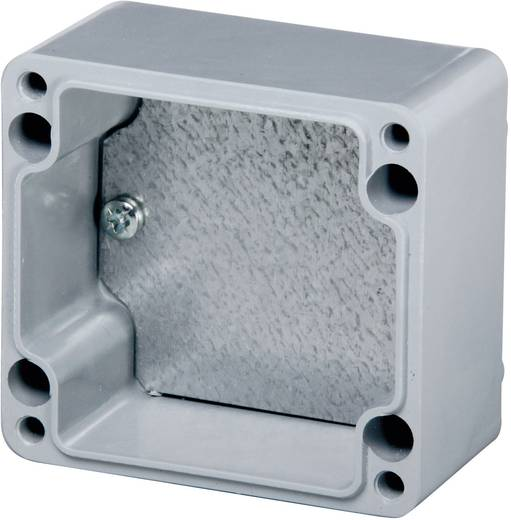 Fibox TM 0507 Montageplaat (l x b) 26 mm x 57 mm Plaatstaal 1 stuks