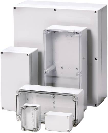 Fibox PCTQ 071004 Wandbehuizing, Installatiebehuizing 66 x 98 x 41 Polycarbonaat Lichtgrijs (RAL 7035) 1 stuks