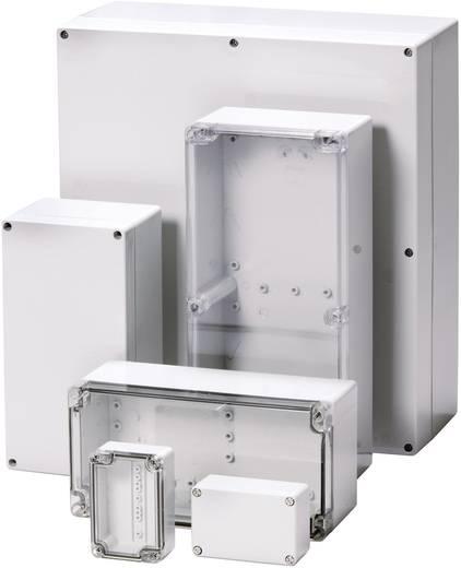 Wandbehuizing, Installatiebehuizing 66 x 98 x 41 Polycarbonaat Lichtgrijs (RAL 7035) Fibox PCTQ 071004 1 stuks