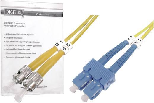 Digitus Professional Glasvezel Aansluitkabel [1x ST-stekker - 1x SC-stekker] 9/125µ 3 m