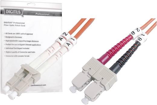 Digitus Professional Glasvezel Aansluitkabel [1x LC-stekker - 1x SC-stekker] 50/125µ 3 m