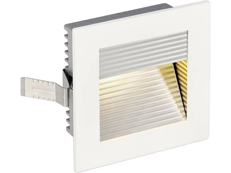 SLV LED-inbouwlamp Frame Curve 113292 LED 1 W Wit Aluminium