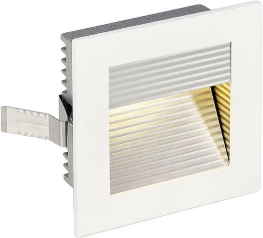 SLV Het frame van de Kromme 113292 LED-inbouwlamp 1 W Warm-wit Wit