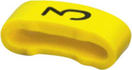 Phoenix Contact 0826514:3 SD-WMTBS (S) YE:3 Markeerclip Opdruk 3 Buitendiameter 16 mm (min)